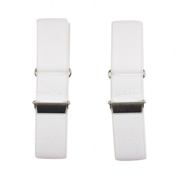 Skjortärmshållare vita - Portia