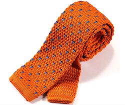 Stickad orange slips