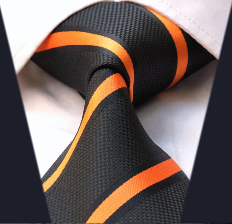 Randig bred slips