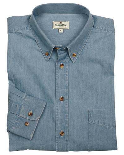 Klassisk jeansskjorta