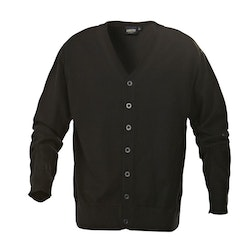 Svart cardigan - James Harvest Knowville