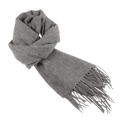 Klassisk enfärgad grå halsduk - Portia