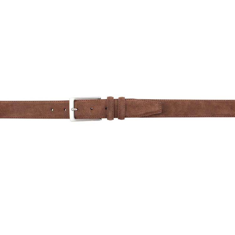 Brunt mockabälte 35mm - Portia