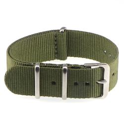 Militärgrönt Natoklockarmband