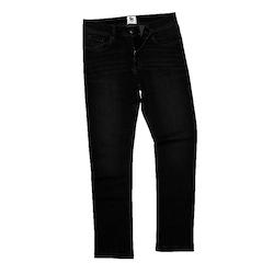 Svarta raka jeans-Leo