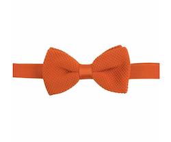Orange stickad fluga - Portia