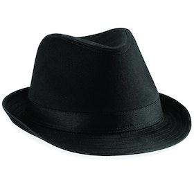 Svart Fedora hatt