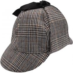 Sherlock Holmes Deerstalker hatt