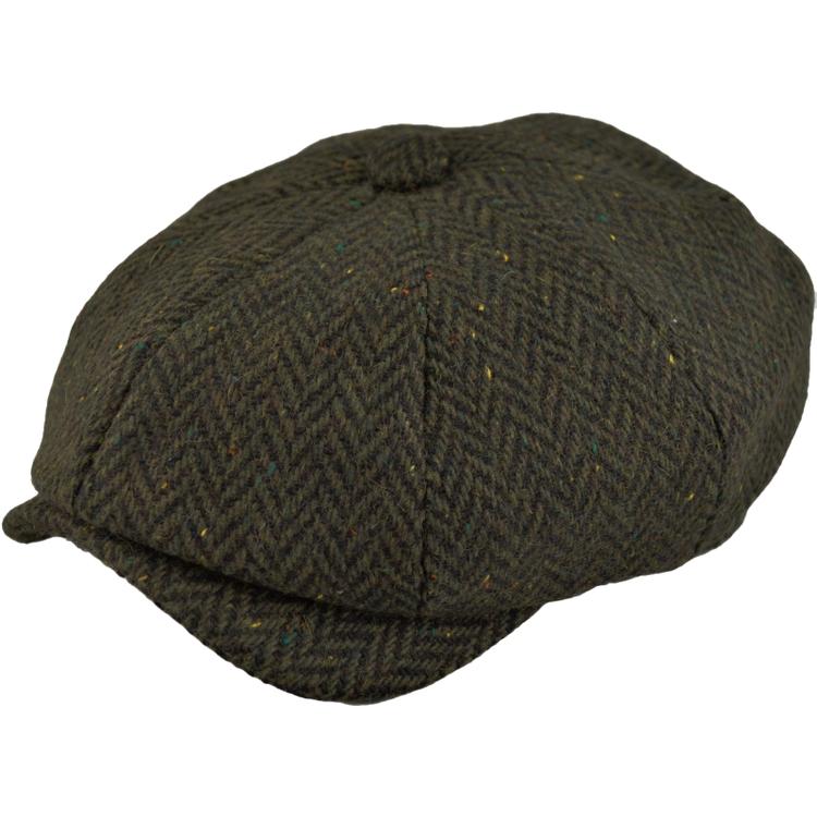 Tweed newsboy keps