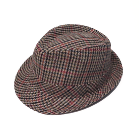 Rutig Trilby hatt