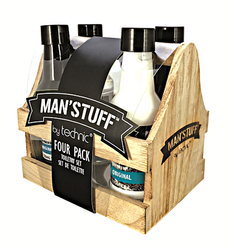 Man'Stuff Four Pack toiletry set