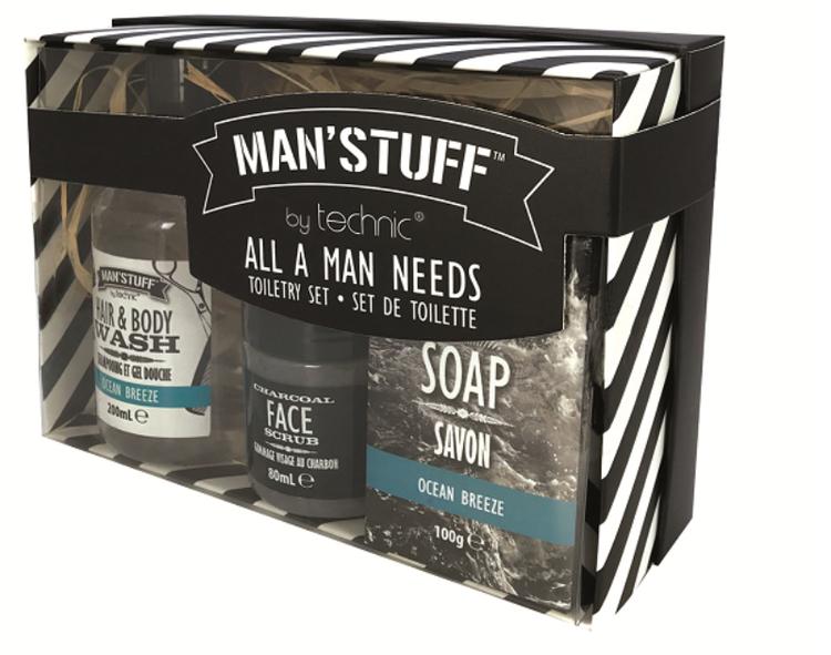 Man'Stuff toiletry kit