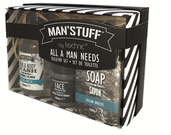 Man'Stuff toiletry kit