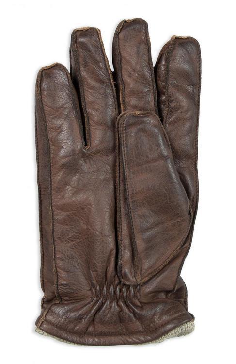 Brun handske i nötnappa-Jackson V5
