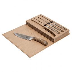 Köttkniv 4-pack - Orrefors Hunting
