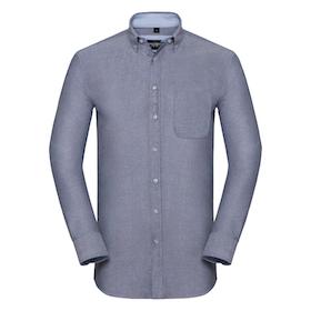 Blå Oxfordskjorta