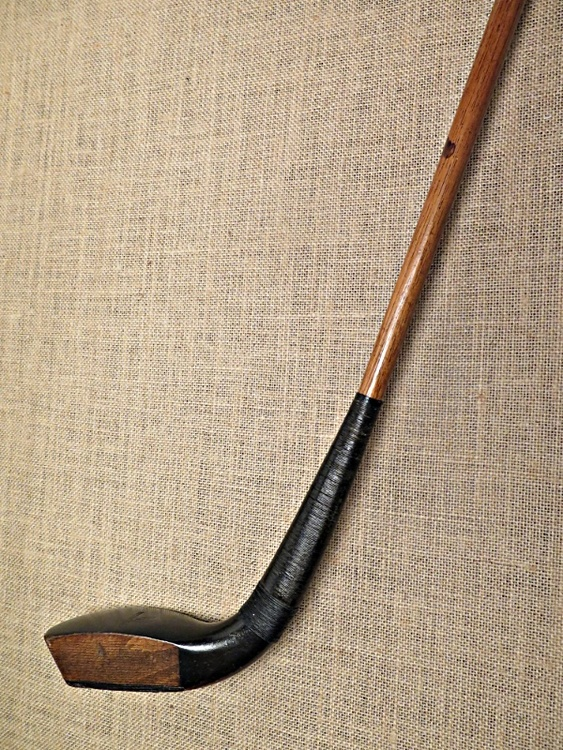 Deep face wood putter - R. Forgan ca 1880