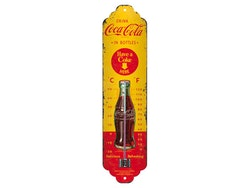 Termometer - Drink Coca-Cola in bottles