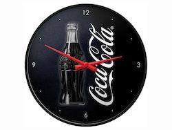 Väggklocka - Coca-Cola svart