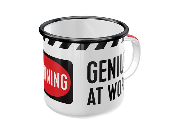 Emaljmugg - Genius at Work