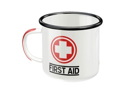 Emaljmugg - First Aid