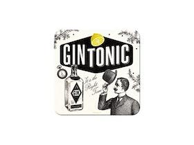 Glasunderlägg - Gin Tonic