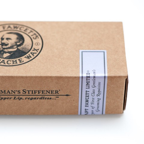 Captain Fawcett - Mustasch vax Cornucopia Box