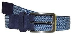 Blått elastiskt bälte - Topeco
