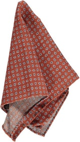 Rostfärgad bröstnäsduk - Atlas Design
