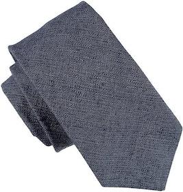 Enfärgad blå slips 7cm - Atlas Design