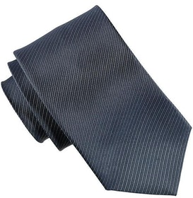 Mönstrad blå slips 7cm - Atlas Design
