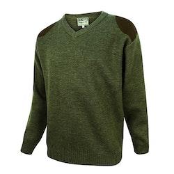 Melrose hunting v-ringad pullover