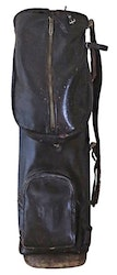 Golfbag - Brown leather ZOME c. 1925
