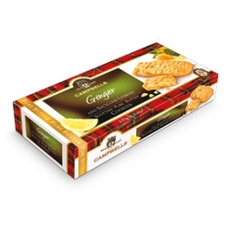 Campbells Shortbread Ginger / Lemon