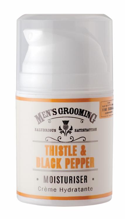Thistle & Black Pepper Moisturiser 50ml - The Scottish Fine Soaps