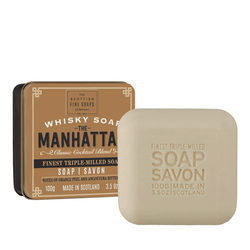 The Manhattan tvål i plåtask 100gr  - The Scottish Fine Soaps