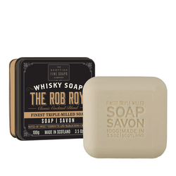 The Rob Roy tvål i plåtask 100gr  - The Scottish Fine Soaps