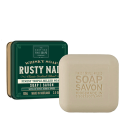 The Rusty Nail tvål i plåtask 100gr  - The Scottish Fine Soaps