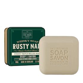 The Rusty Nail tvål i plåtask 100gr  - The Scottish Fine Soaps