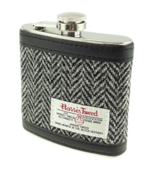 Fickplunta Harris Tweed B/W Herringbone