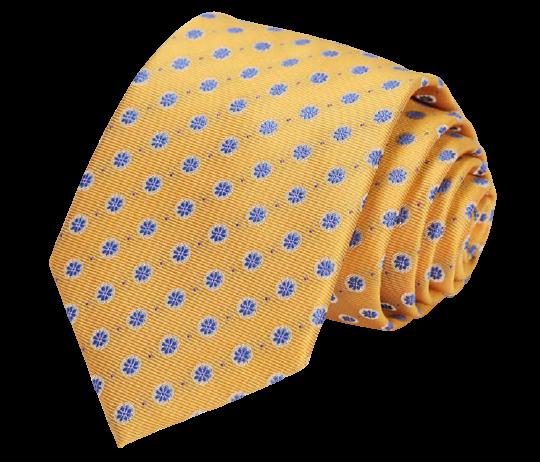 Mönstrad slips med näsduk