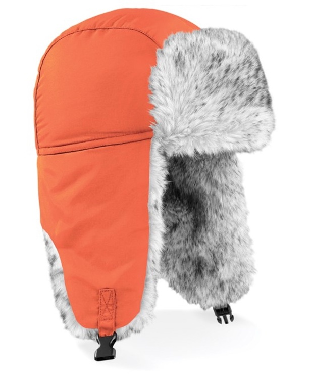 Orange Sherpa mössa