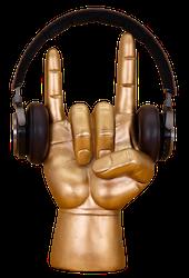 Hörlurshållare Rock On