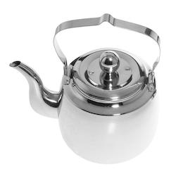 Kaffepanna i rostfritt stål 1 liter