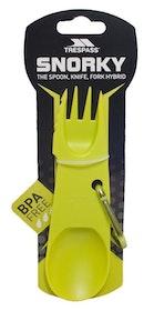 Kniv, gaffel & sked i plast - Trespass