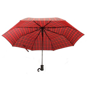 Kompakt paraply Red Tartan - Glen Appin