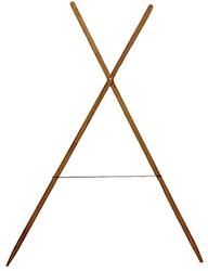 Bagstand i trä