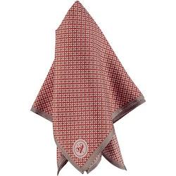 Brun mönstrad bröstnäsduk - Atlas Design