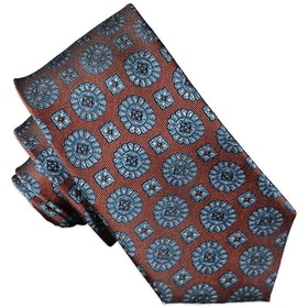 Rostfärgad slips 7cm - Atlas Design