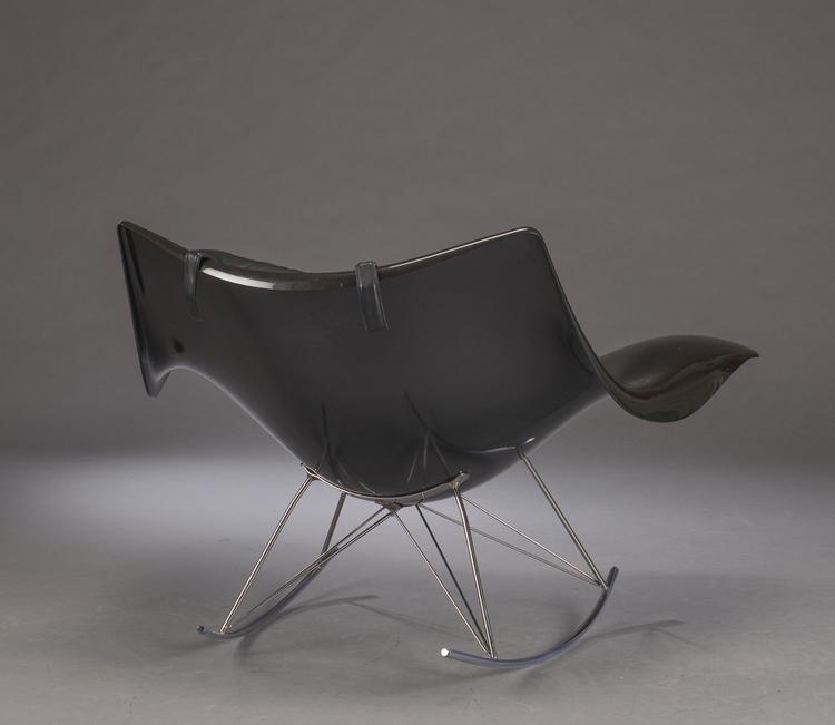Gungstolen / Rocking chair,  Fredericia Furniture Stingray - Thomas Pedersen